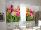 Poolpimendav kardin Tulips in the kitchen 200x120 cm ED-98569