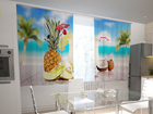 Poolpimendav kardin Hawaii in the kitchen 200x120 cm ED-98586