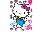 Seinakleebis Hello Kitty 65x85 cm ED-98871