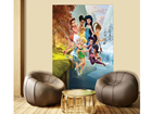 Fliis-fototapeet Disney fairies playing 180x202 cm ED-99088