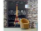 Fliis-fototapeet Eiffel Tower at night 180x202 cm ED-99126