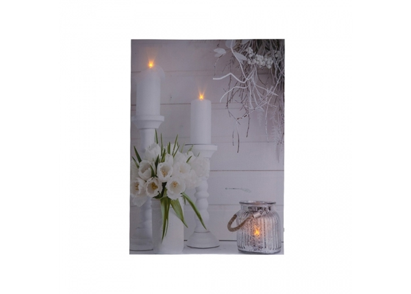LED pilt Tulip Bouquet 30x40 cm ED-117159