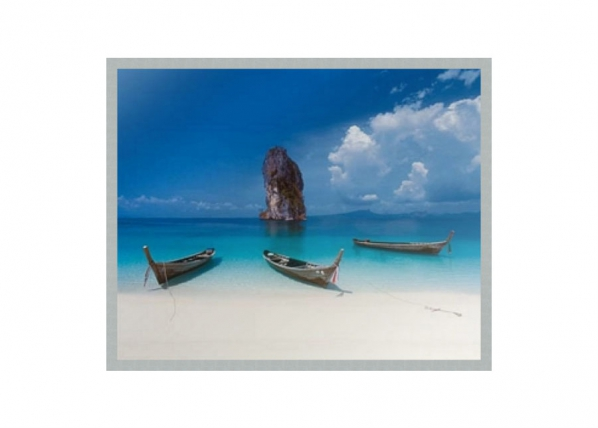 Pilt Modern - Beach and boat 40x50 cm OG-37944