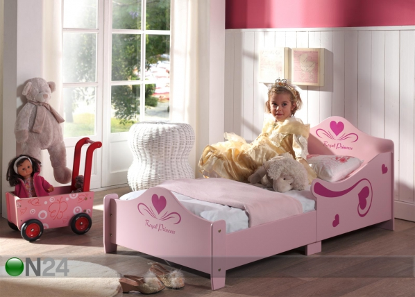 Voodi Princess Junior 70x140 cm AQ-52008