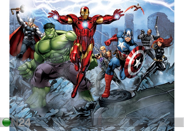 Fototapeet The Avengers Assemble 244x305 cm GC-53937