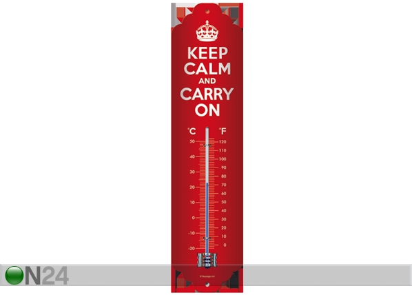 Termomeeter Keep Calm and Carry On SG-61807