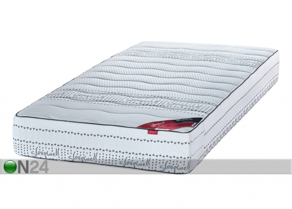 Sleepwell vedrumadrats BLACK Multipocket SW-63372