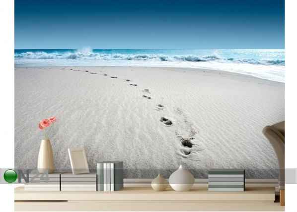Fototapeet Walk on the beach 280x200 cm ED-75078