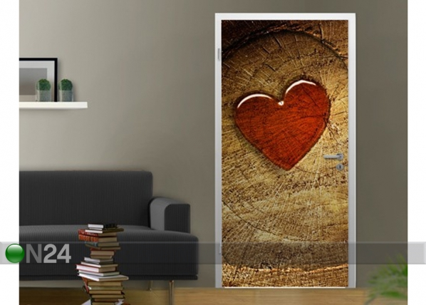 Fototapeet With all my heart 100x210cm ED-76651