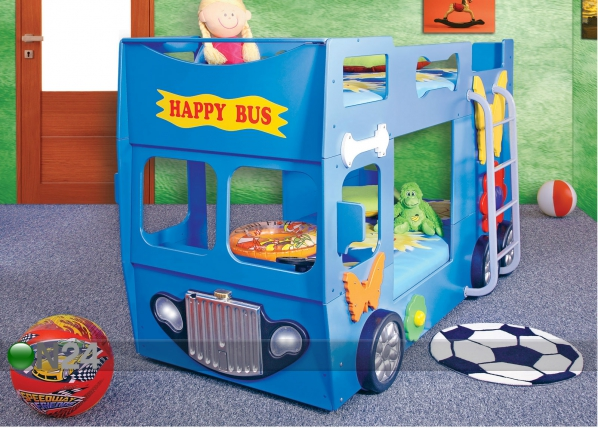 Narivoodi komplekt Happy Bus 90x190 cm TF-83312
