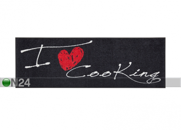 Vaip I Love Cooking Heart 60x180 cm A5-84281