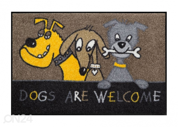 Vaip Dogs are welcome 50x75 cm A5-84587