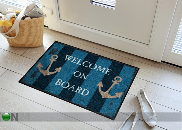 Vaip Welcome on Board 50x75 cm A5-84711