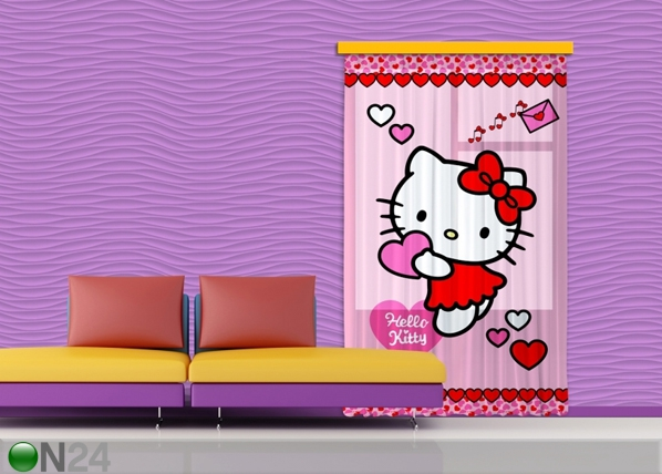 Fotokardin Hello Kitty Heart 140x245 cm ED-87204