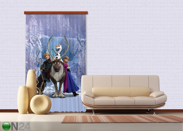 Poolpimendav fotokardin Disney Ice Kingdom 140x245 cm ED-87417