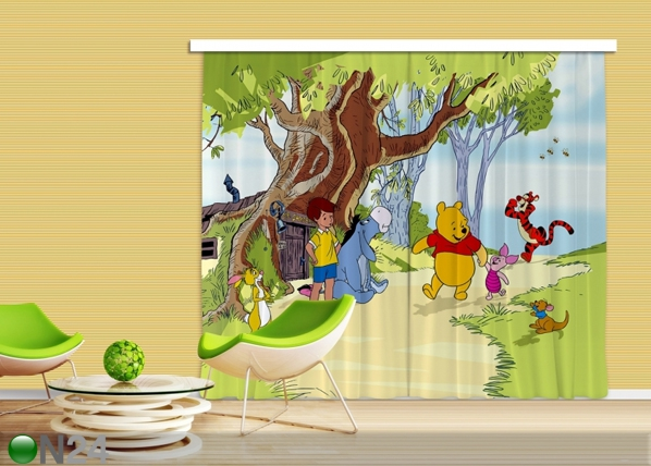 Pimendav fotokardin Disney Winnie the Pooh and Friends 280x245 cm ED-87462