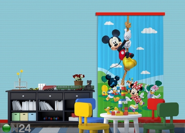 Pimendav fotokardin Disney Mickey on a rope I 140x245 cm ED-87837