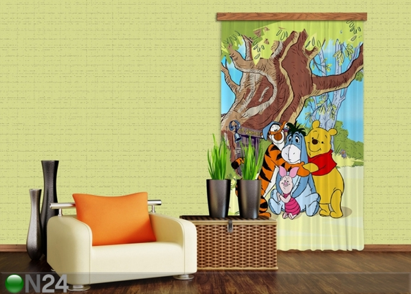 Pimendav fotokardin Disney Winnie the Pooh and Friends I 140x245 cm ED-87841