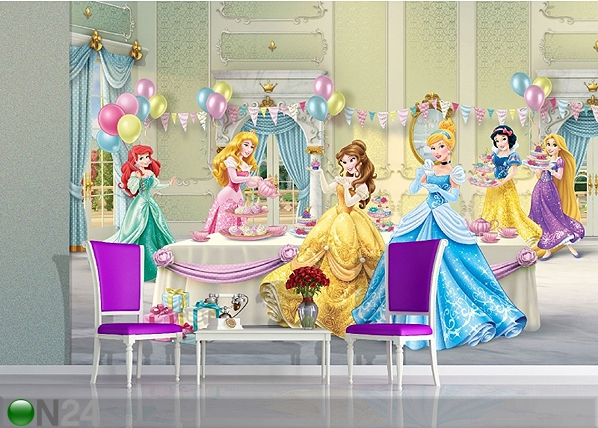 Fototapeet Disney princesses celebrate 360x254 cm ED-88013