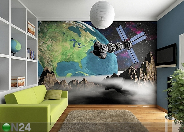 Fototapeet View of the Earth from space 360x254 cm ED-88023
