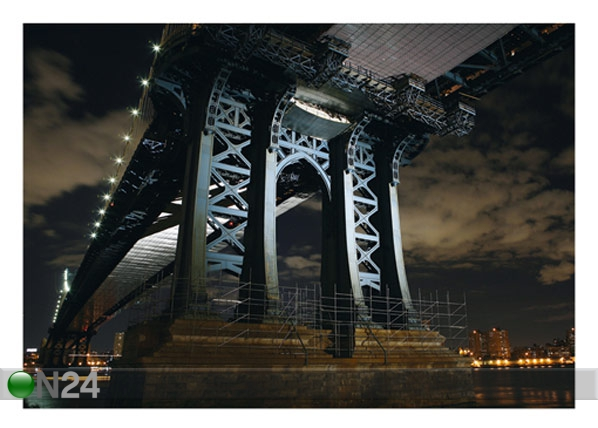 Fototapeet New York bridge 400x280 cm ED-88118