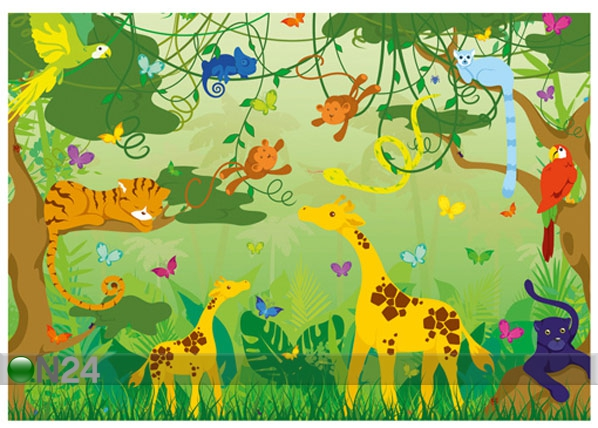 Fototapeet Coming jungle 400x280 cm ED-88138