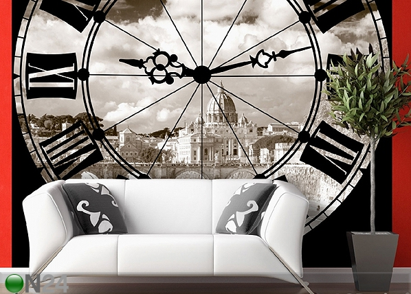 Fototapeet The clock 360x254 cm ED-88159