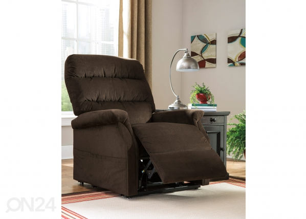 Tugitool jalatoemehhanismiga Recliner Power Lift Brenyth FA-89901