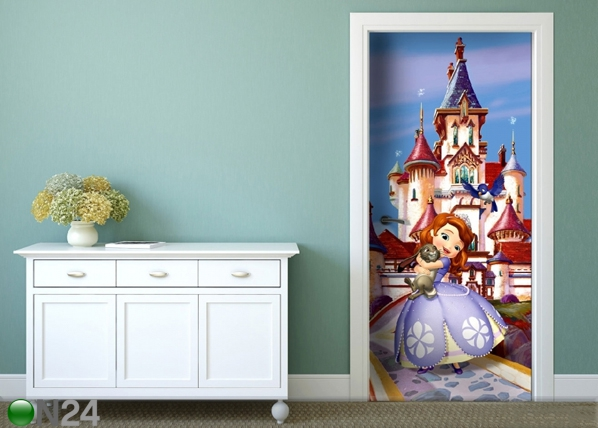 Fliis-fototapeet Disney Sofia at the castle 90x202 cm ED-91062