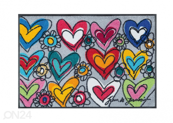 Vaip With Love, all things are possible 50x75 cm A5-91552