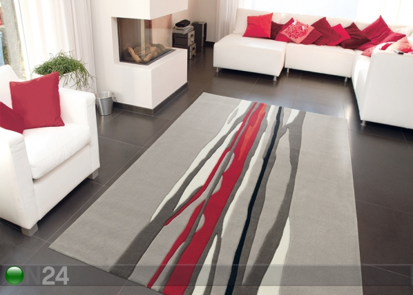 Vaip Red Trace 90x160 cm A5-92232