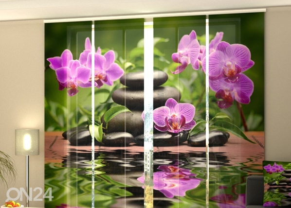 Poolpimendav paneelkardin Orchids in the Garden 240x240 cm ED-97592