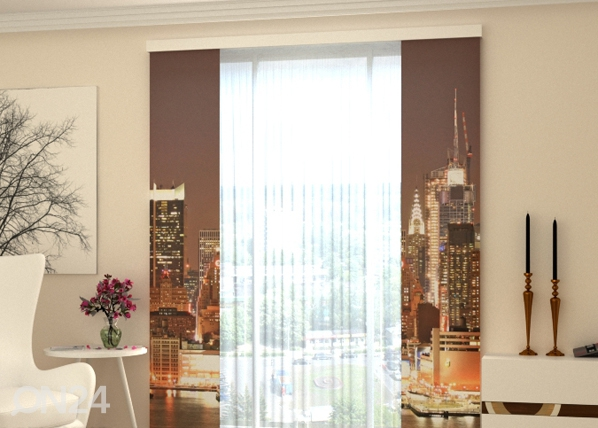 Poolpimendav paneelkardin Evening Manhattan 80x240 cm ED-97773