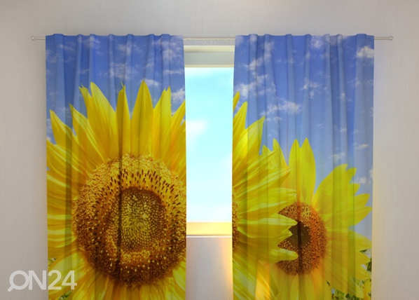 Läbipaistev kardin Flowers of the Sun 240x220 cm ED-97955