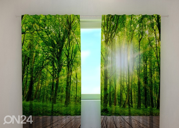 Poolpimendav kardin Forest at the doorstep 240x220 cm ED-97974