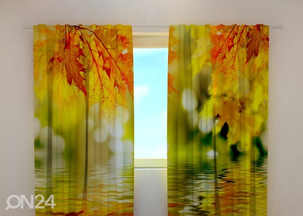 Pimendav kardin Golden leaves 240x220 cm ED-98061