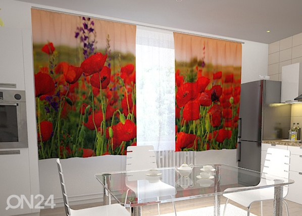 Poolpimendav kardin Wonderful poppies 200x120 cm ED-98401