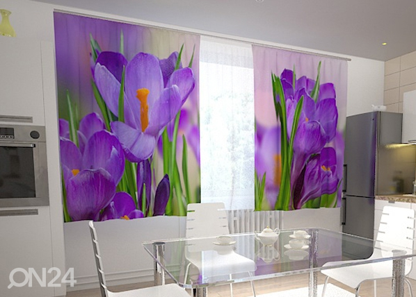 Pimendav kardin First crocuses 200x120 cm ED-98407