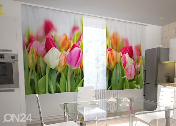 Pimendav kardin Tulips in the kitchen 200x120 cm ED-98570