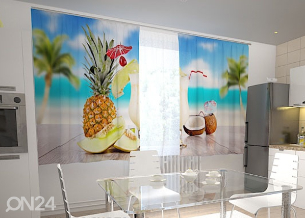 Pimendav kardin Hawaii in the kitchen 200x120 cm ED-98587