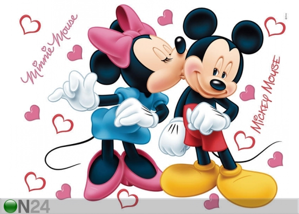 Seinakleebis Disney Minnie and Mickey's 42,5x65 cm ED-98677