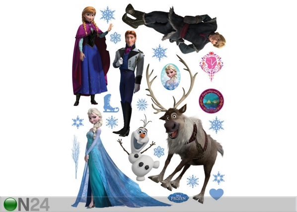 Seinakleebis Disney Ice Kingdom 65x85 cm ED-98788