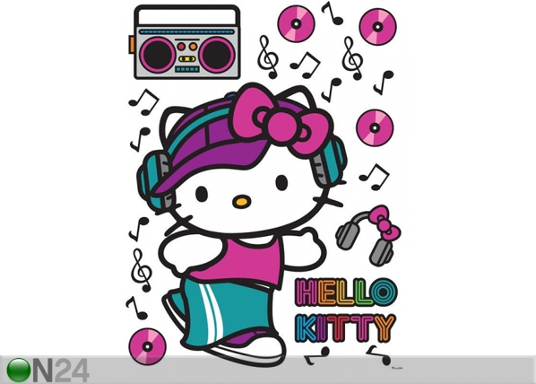 Seinakleebis Hello Kitty Music 65x85 cm ED-98869