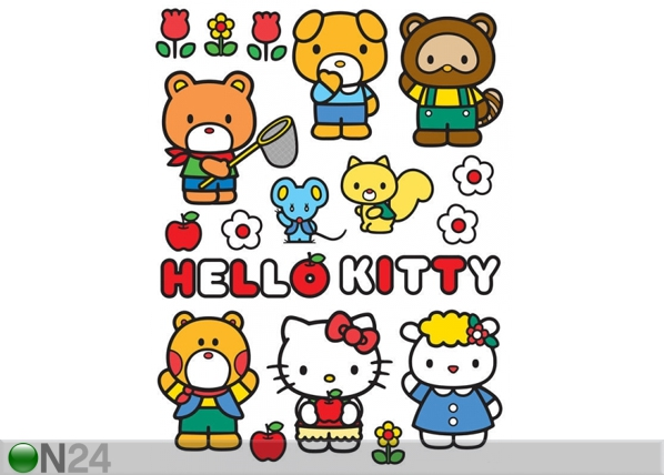 Seinakleebis Hello Kitty and Friends 65x85 cm ED-98873