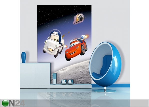 Fliis-fototapeet Disney Cars in Space 180x202 cm ED-99072