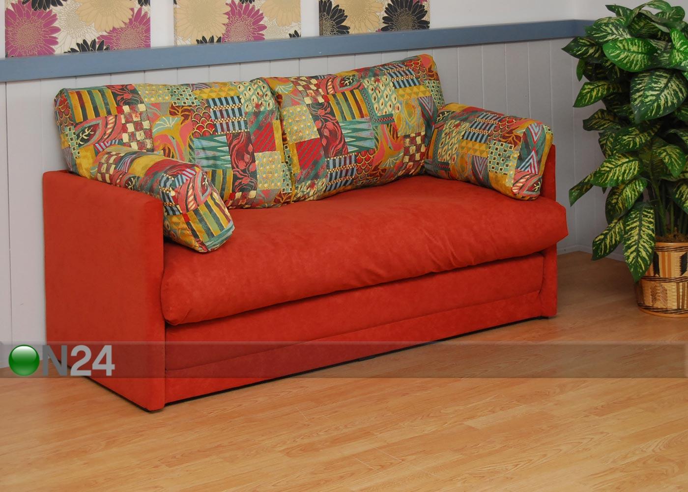 Microsuede sohva